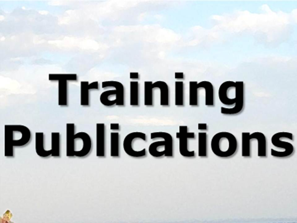 training publications