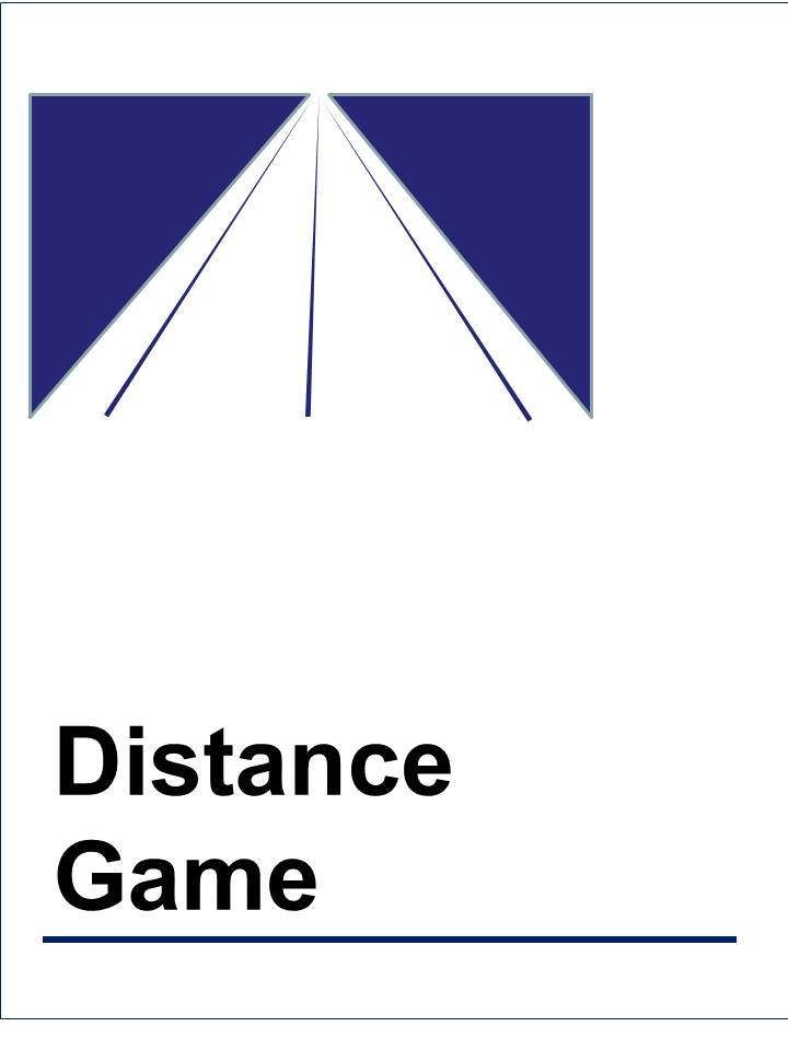 distance game
